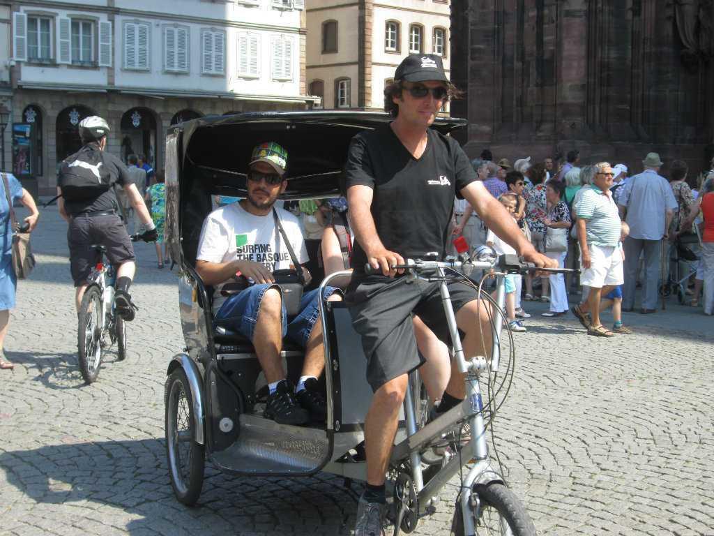 Cyclorama Strasbourg - Promenades en vélo-calèche